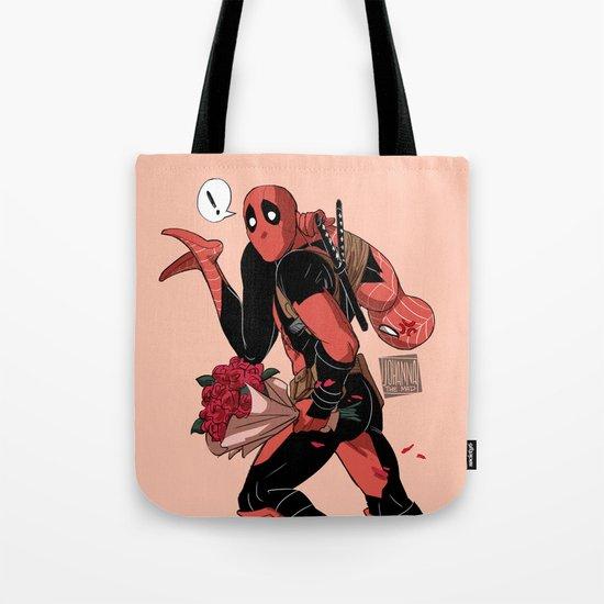 I'll take you away Valentine Tote Bag
