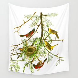 Orchard Oriole Bird Wall Tapestry