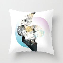 Smooth Spiral Throw Pillow