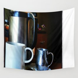 Morning Room Service Wall Tapestry