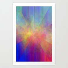 HAZY STAR Art Print