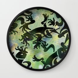 Cave Art Wall Clock
