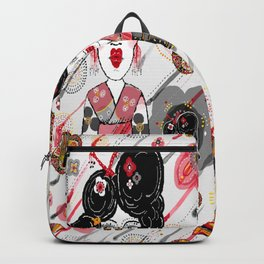 Geisha in the Rainy Garden Backpack