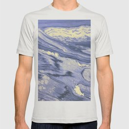 Lavender Marble With Cream Swirls T-shirt