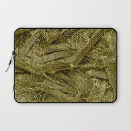 Golden fibers Laptop Sleeve