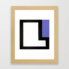Geometric Design by Dominic Joyce Framed Art Print