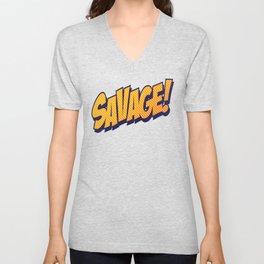 Savage Unisex V-Neck