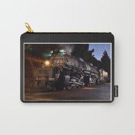 UP 4014. Union Pacific.  Steam Train Locomotive. Big Boy. © J. Montague. Carry-All Pouch