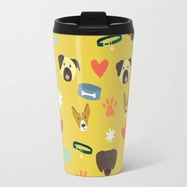 All about dogs - dog lovers pattern Travel Mug