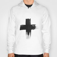 cross Hoodies featuring Cross by Roscoe