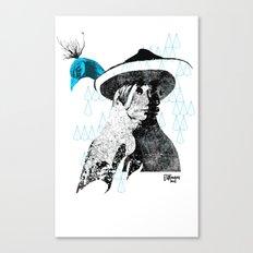 tewa girl 2 Canvas Print