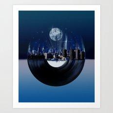 new york city music 1 Art Print