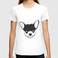 chihuahua T-shirts featuring Chihuahua by anabelledubois