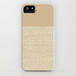 Riverside - Sand iPhone Case