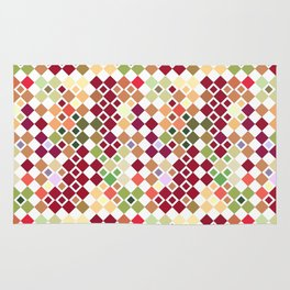 Colorful pattern art Rug