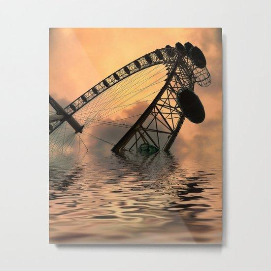 Disaster Metal Print