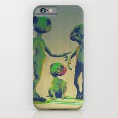 Little Green Family Portrait Slim Case iPhone 6s