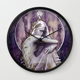Earth has awakened Wall Clock