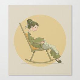 Round Canvas Print