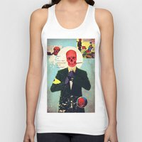 mad Tank Tops featuring What Is This Mad Obsession With Freedom? by Alec Goss