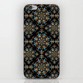 Turkish tulip - Ottoman tile pattern 14 iPhone Skin