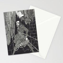 The Cask of Amontillado by Harry Clarke Stationery Cards