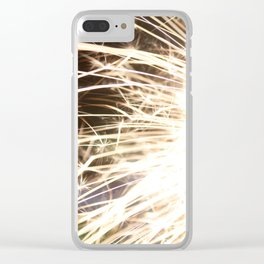 Light Explosion Clear iPhone Case