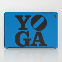 yoga iPad Cases featuring YoGA by CGould