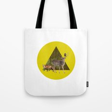 Forest Creatures Tote Bag