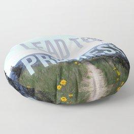 All Roads Lead Floor Pillow