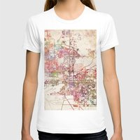 phoenix T-shirts featuring Phoenix  by MapMapMaps.Watercolors