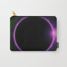 Pink Solar Ring Carry-All Pouch