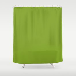 Bowl of Beauty ~ Spring Green Coordinating Solid Shower Curtain