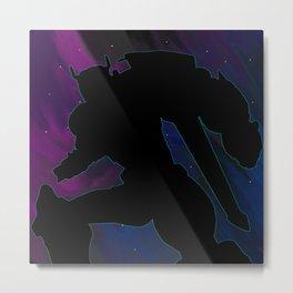 Starry Voltron - Voltron Legendary Defender Metal Print