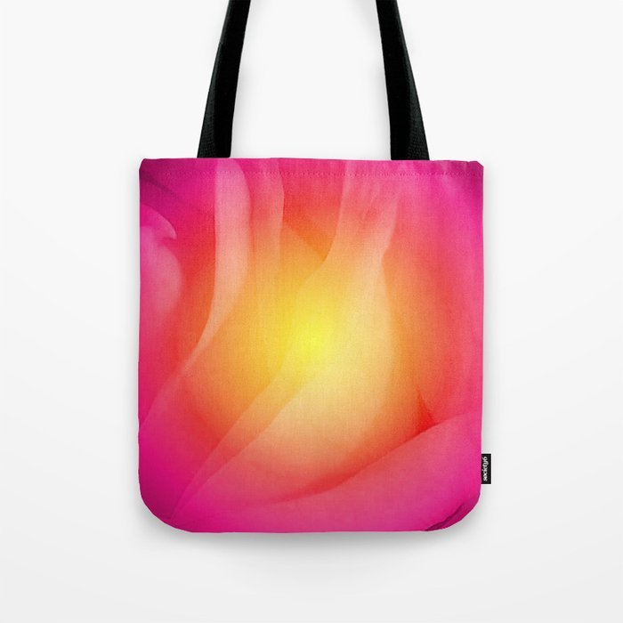 Abstract Rose  Tote Bag