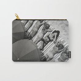 They laugh at me because I am different.  I laugh at them because they are all the same! Carry-All Pouch