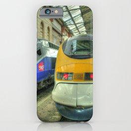 Marseille Trains of Grande Vitesse iPhone Case