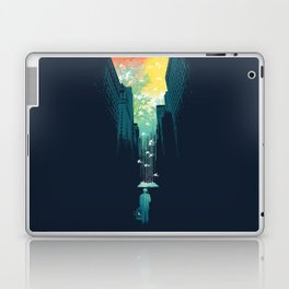 I Want My Blue Sky Laptop & iPad Skin