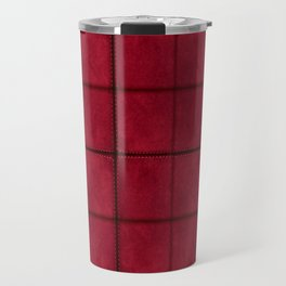 Fabric Suede Pattern Travel Mug