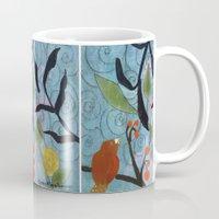 nemo Mugs featuring Little Nemo Bird  by Robin Maria Pedrero