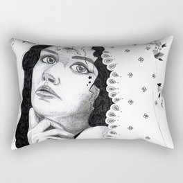 She Could Be a Joan of Arc Rectangular Pillow