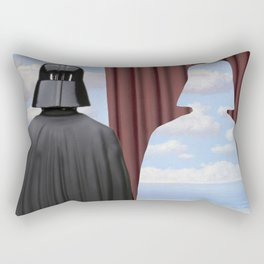 Decalcomania de Vader Rectangular Pillow