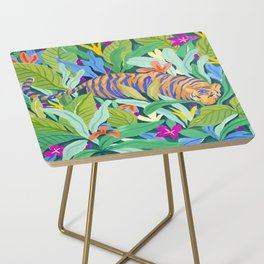 Colorful Jungle Side Table