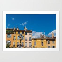 Summer in Aix-en-Provence II Art Print