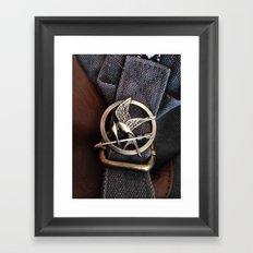 Mockingjay Framed Art Print