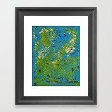 Green Dragon Framed Art Print