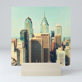 Philadelphia Skyline Mini Art Print
