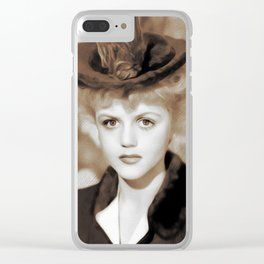 Angela Lansbury, Actress Clear iPhone Case