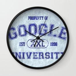 Google University Wall Clock