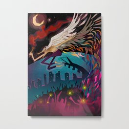 the seagull man Metal Print